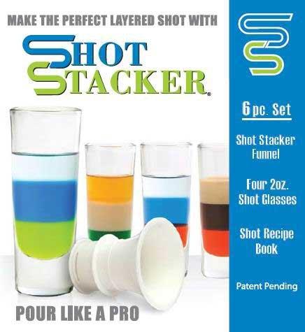 Shot Stacker Drink Layering Kit