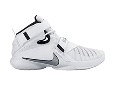 799cf87099442 Nike Lebron Soldier 9 Tb (12 M US) White  Buy Online at Low Prices in India  - Amazon.in