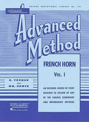 [(Rubank Advanced Method, Volume 1-French Horn)] [Author: H Voxman] published on (March, 1989)