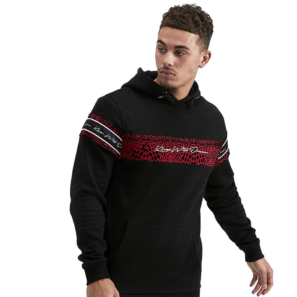 Black /& Red Kings Will Dream Cawdence Overhead Hoodie