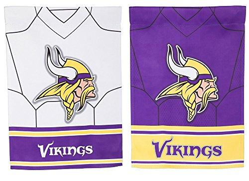 Team Sports America Minnesota Vikings Double Sided Jersey Su