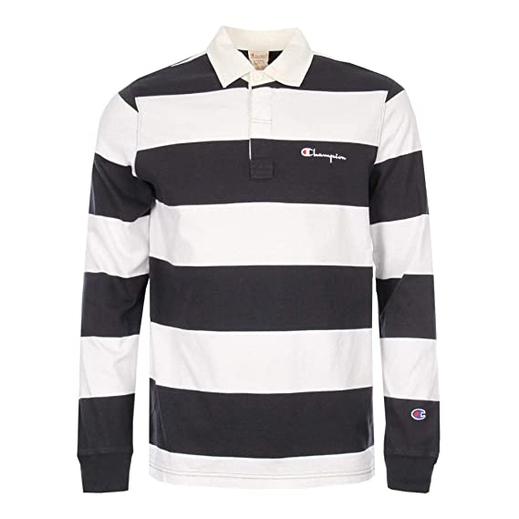 477eb433 Champion Reverse Weave Rugby Polo - Navy - XL: Amazon.co.uk: Clothing