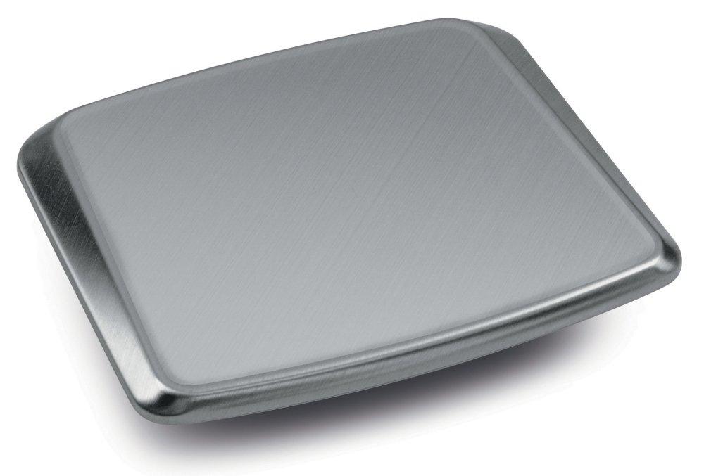 Piatto di pesata 180× 195 mm, acciaio inox [Kern EMS-A01] per Bilancia didattica KERN EMS (solo per modelli con dimensioni piatto di pesata 175x190 mm)