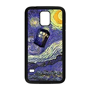 Police Box¡ê?Doctor Who DIY Cover Case for SamSung Galaxy S5 I9600 LMc-99816 at LaiMc