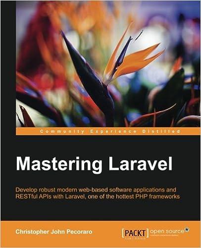 Mastering Laravel Paperback – July 30, 2015