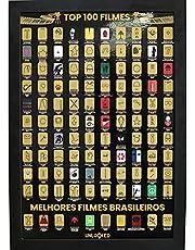 Mapa de Raspar Top 100 Filmes Unlocked | Poster Raspadinha | 100 filmes para ver antes de morrer | Cinema | Scratch of Movie Map