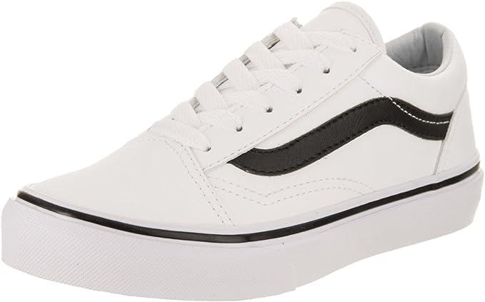 vans blanc et noir