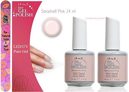 ibd Just Gel Polish Seashell Pink  Each Bottle  Plus a free