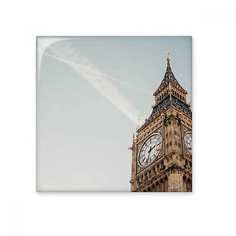 Big Ben Clouds Blue Sky Ceramic Bisque Tiles Bathroom Decor Kitchen Ceramic  Tiles Wall Tiles