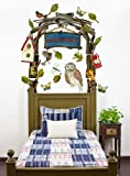 Oopsy Daisy Peel and Place Woodsy Arbor by Shelly Kennedy, 54 by 60-Inch