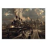 SCHMIDT Locomotive Puzzle, 1000-Piece