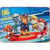 Nick Jr. Paw Patrol Pups in Action Area Rug, 56in x 40in, Blue/Red