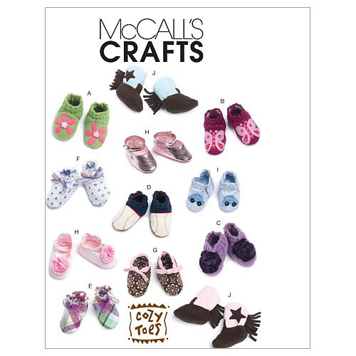 342 Baby Shoes, Boots, One Size Only (Baby Bootie Pattern)