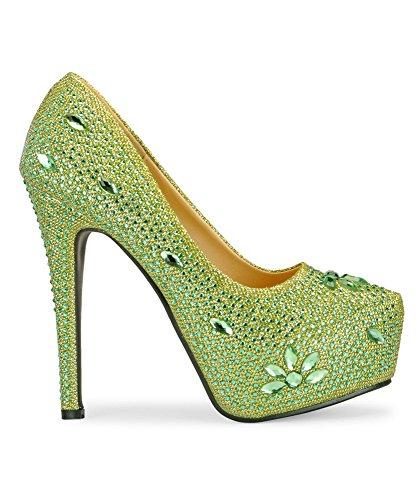 Yepme Green Stilettos s16gpeq5C3