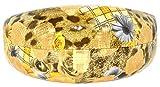 X-Large Hard Clamshell Case for Large and Oversized Eyeglasses Sunglasses Plaid Design (Rose_Flowers_Grey)