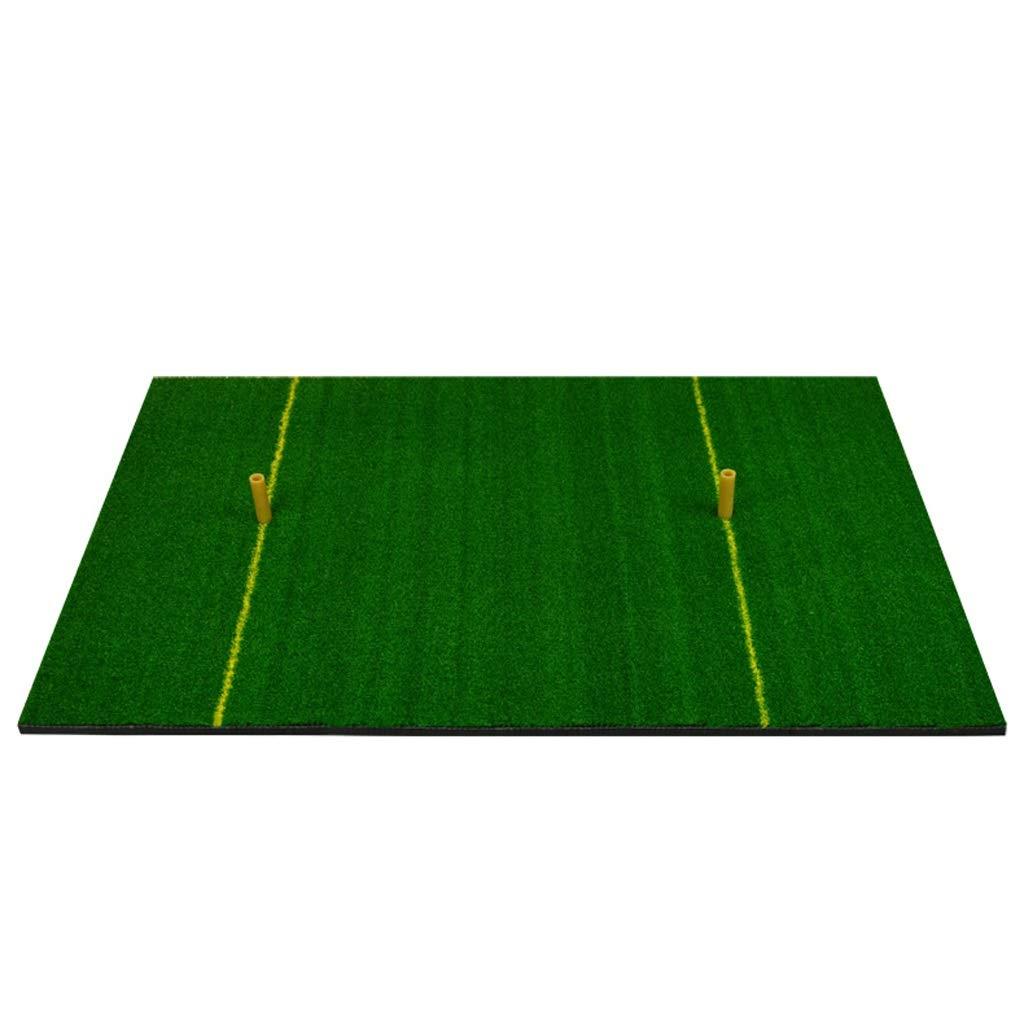Yxsdゴルフ練習打撃マットラバーティーホルダーゴルフ練習マット、60 * 90 cm   B07PPLX7LM
