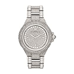 Camile Crystal Pave Dial Crystal Watch