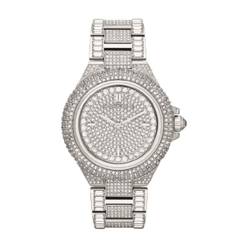 Crystal Pave Dial Crystal Encrusted Ladies Watch MK5869 ()