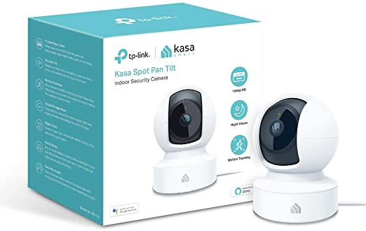 Rechargable KC310S2 HD 1080p TP-Link Kasa 2 Camera Home Security System Wireless Outdoor /& Indoor Works w//Alexa and Google Night Vision Motion Detection Siren