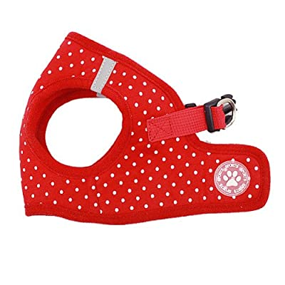 BINGPET BB5004 Polka Dot Soft Vest Dog Puppy Pet Harness Adjustable