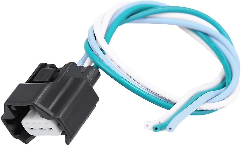 Replace# 23731-4M50B Crankshaft Camshaft Position Sensor Connector Plug Pigtail for Nissan Infiniti