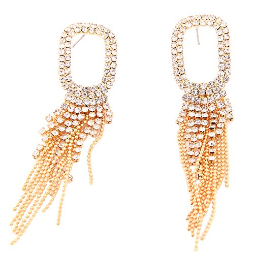 Ladies Fashion Drop (Women's Fashion Drop Earrings (Gold))