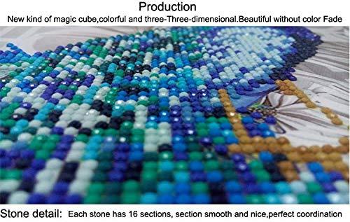 Pintura Diamante de BaZhaHei, 5D Owl Diamond Point Drill Bit Drill Pintura Decoración para el hogar del Diy 5d bordado de diamantes búho rhinestone pintura ...