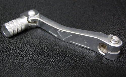 Silver CNC FOLDING SHIFTER LEVER XR50 CRF50 KTM50 TTR50 CRF70 SF07