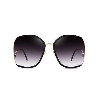 YUBIN Aumentar Gafas Thin Thin Gafas De Sol De Cara Redonda ...