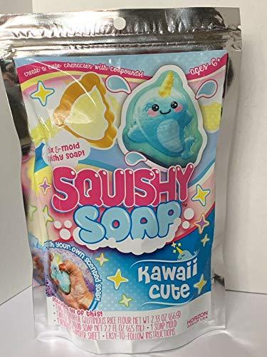 (Squishy Soap Mix & Mold, Kawaii Cute)