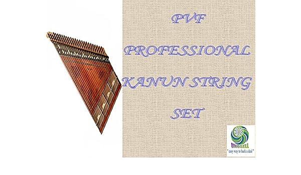 prosefessional PVF Juego de cuerdas para turco instrumento de ...