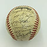 1987 San Diego Padres Team Signed National League Baseball With Tony Gwynn - Autographed Baseballs