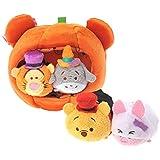 Disney Store Pooh & Friends Pumpkin House set Halloween TSUM TSUM Japan Import