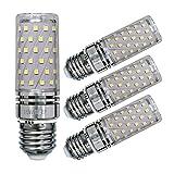 led 15w corn - Sagel E26 LED Corn Bulbs 15W, 120W Incandescent Bulbs Equivalent, 6000K Cool White Candelabra Bulbs, Non-Dimmable, 1500Lm, Edison Screw Corn Light Bulbs, 4-Pack