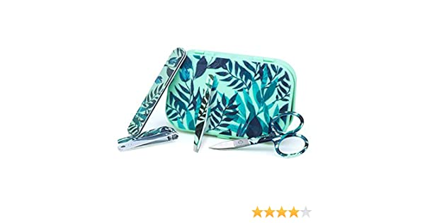 Beter Estuche Kit Mini Manicura (4Piezas) Travel Verde G-4 300 g: Amazon.es: Belleza