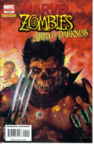 Marvel Zombies vs. Army of Darkness #5 : The Stalking Dead (Marvel / Dynamite Comic Book 2007) -