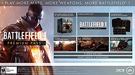 Battlefield 1: Premium Pass - Xbox One Digital Code