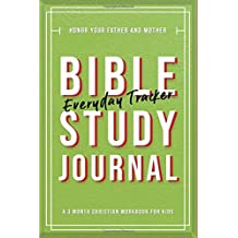 Bible Study Journal: A Fun Tool to Encourage Kids to Journal God's Word: Modern Calligraphy and Lettering - Medium