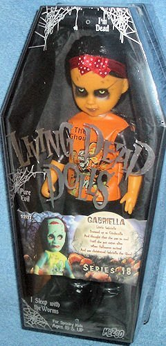 Living Dead Dolls Urban Legends Series 18 HALLOWEEN Variant Gabriella by Living Dead Dolls