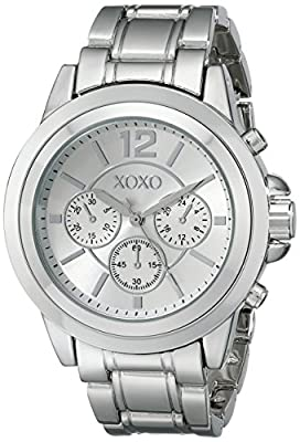 XOXO Women's XO5588 Silver-Tone Bracelet Watch