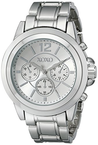 XOXO Womens XO5588 Silver-Tone Bracelet Watch