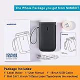 Label Maker Machine NiiMbot D11 2020 Portable