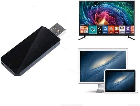 Adaptador Velidy Wi-Fi inalámbrico USB para televisión, 802.11ac de doble banda 2,4 GHz y 5 GHz, adaptador USB de red WiFi inalámbrico para smart TV Samsung WIS12ABGNX WIS09ABGN 300M: Amazon.es: Electrónica