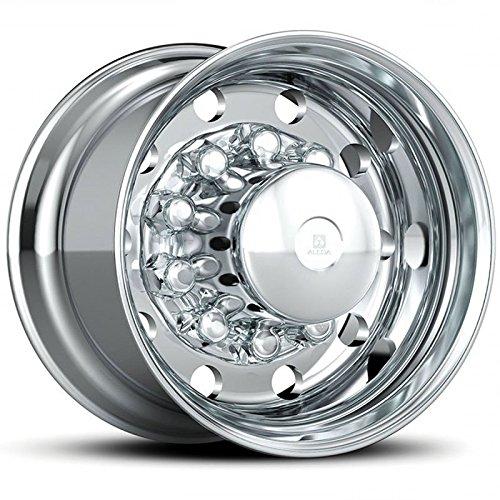 Alcoa 22.5'' x 14'' Polished X-One Super Single 10 Lug Polished Wheel (843622) by Alcoa (Image #1)