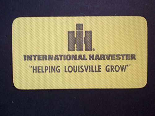VINTAGE INTERNATIONAL HARVESTER ADVERTISING GRIPPER LOUISVILLE