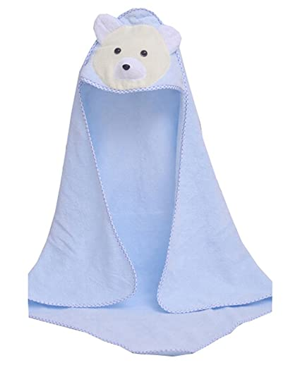 Baby / Kids algodón suave transpirable toalla de baño recién nacidos ...