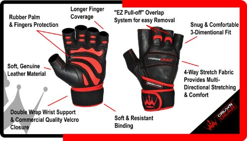 Amazon Com Weightlifting Gloves For Gym Fitness Bodybuilding