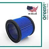 1 Pack HangUp Shop-Vac 9039700 Ultra Web Small Cartridge Filter HEPA Air Filters Vacuum Cleaners by GreenR3