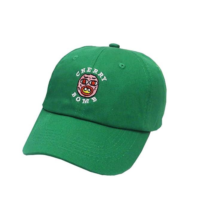 Gorra de Béisbol Hombres Mujeres Unisexo Algodón Carta Skate Sombrero Visera: Amazon.es: Ropa y accesorios