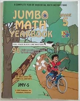Book Jumbo Math Yearbook Grade 5 / Blackline Masters (B-Jmy-5)